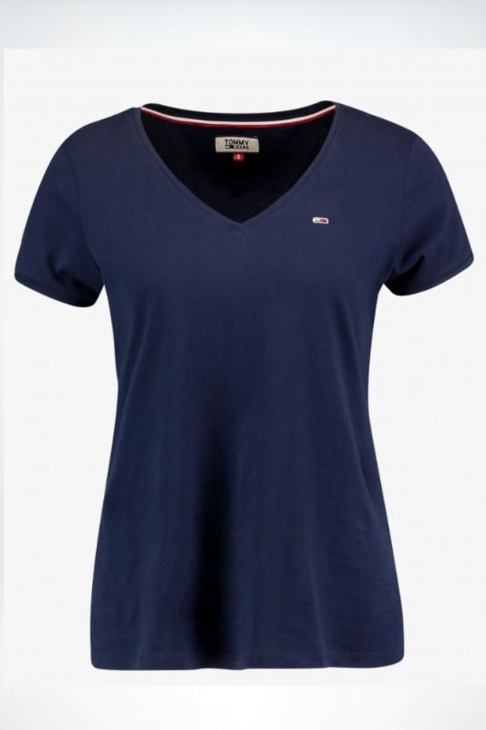 "TOMMY HILFIGER Damen T-Shirt - ""TJW Skinny Str.navy"""