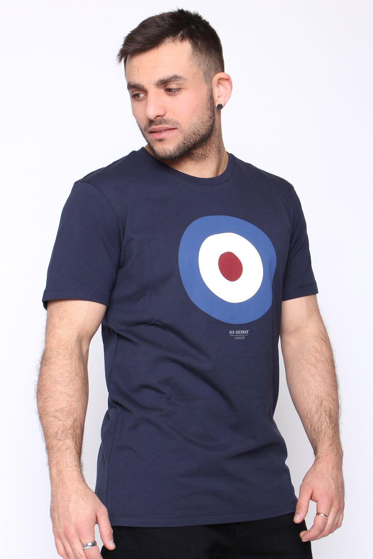 The Dark Ben Target T Tee Sherman Herren Shirt Navy oWQxrCdBeE