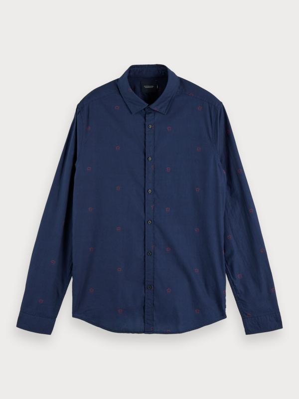 "Scotch & Soda Herren Hemd - ""Ams Blauw light weight Shirt w"""