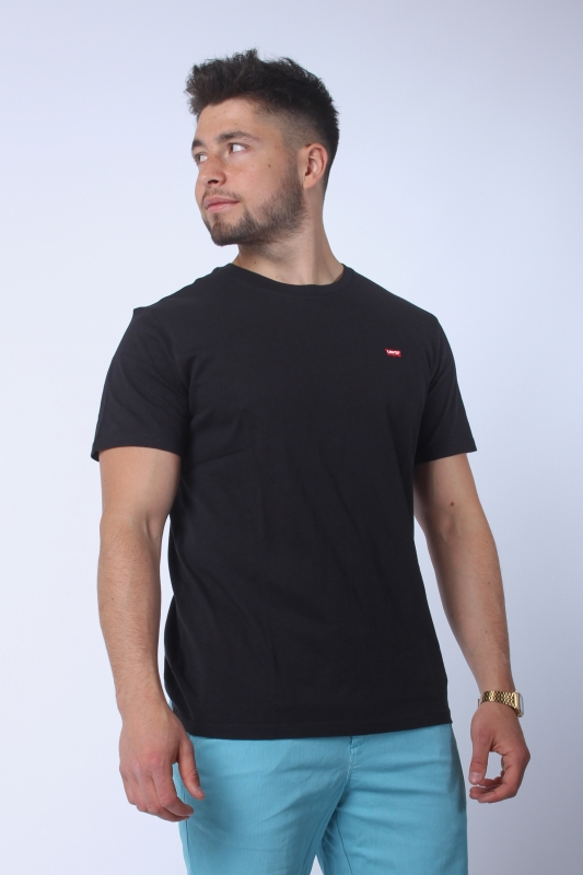 "LEVI'S Herren T-Shirt - ""SS Original hm Tee patch black"""