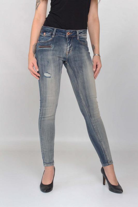 "ZHRILL Damen Jeans - ""Mia blue N7414"""