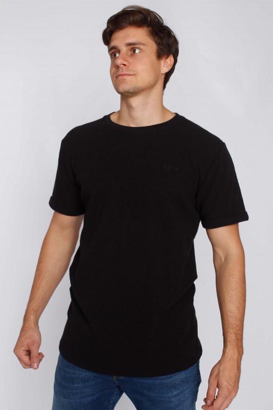 "TIGHA Herren T-Shirt - ""Dai waffle black"""
