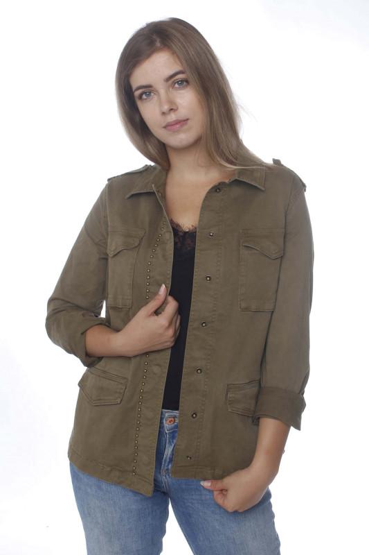 "CIRCLE OF TRUST Damen Jacke - ""KENZI Jacket moss"""