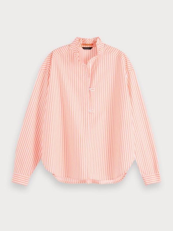 "SCOTCH & SODA Damen Bluse - ""Oversized Popover Shirt"""
