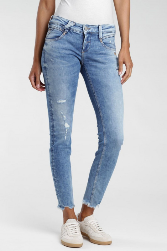 "Gang Damen Jeans - ""Nena cropped extra vintage summer fun"""