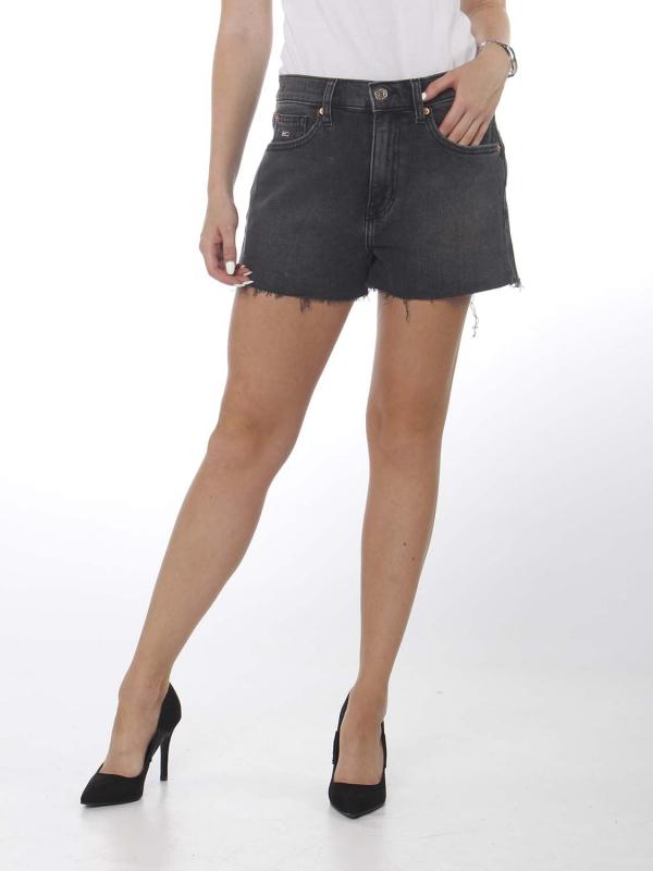 "TOMMY HILFIGER Damen Shorts - ""Denim Hotpants aries blk"""