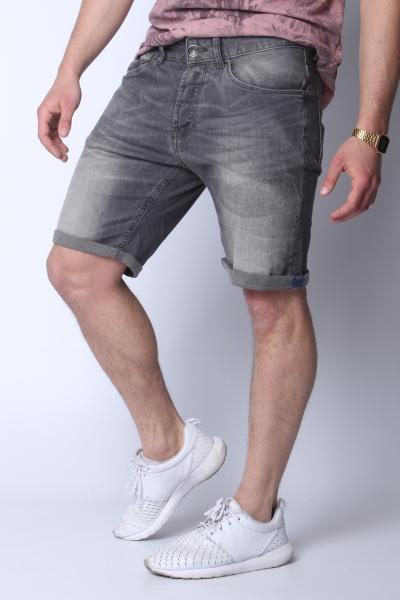"DSTREZZED Herren Shorts - ""The James B. Shorts grey worn"""