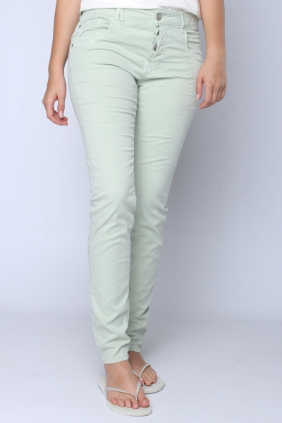 "GANG Damen Jeans - ""New Georgina pastel olive"""
