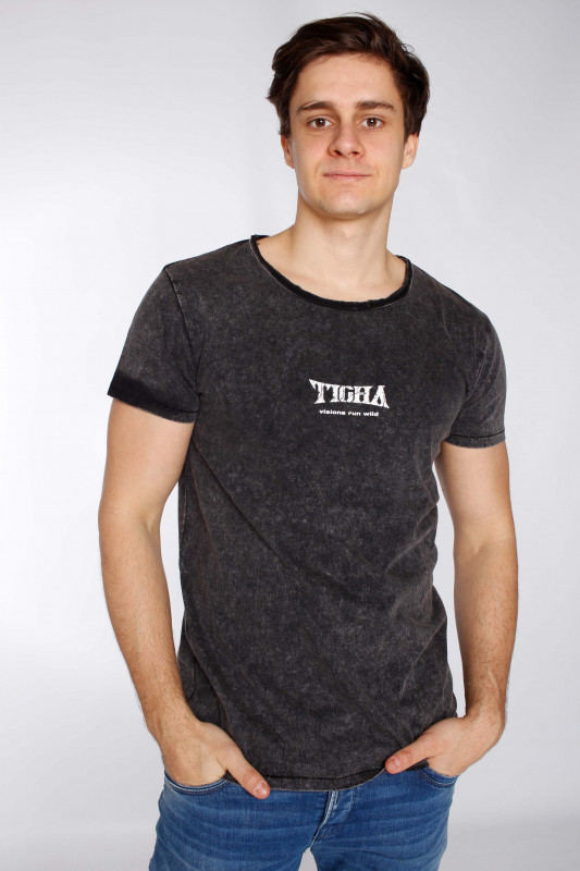 "TIGHA Herren T-Shirt - ""Wild Eagle Wren Shirt vint.bla"""