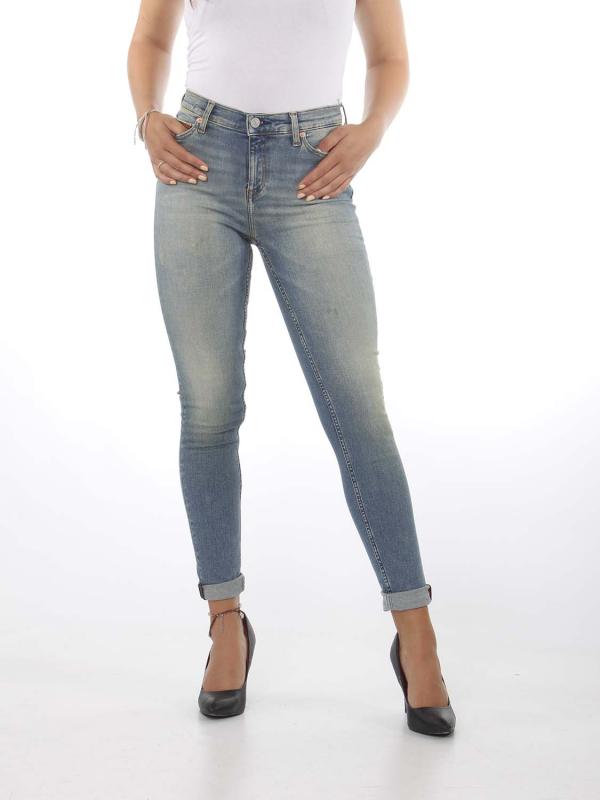 "Tommy Hilfiger Damen Jeans - ""Nora Mid Rise skinny smlt"""