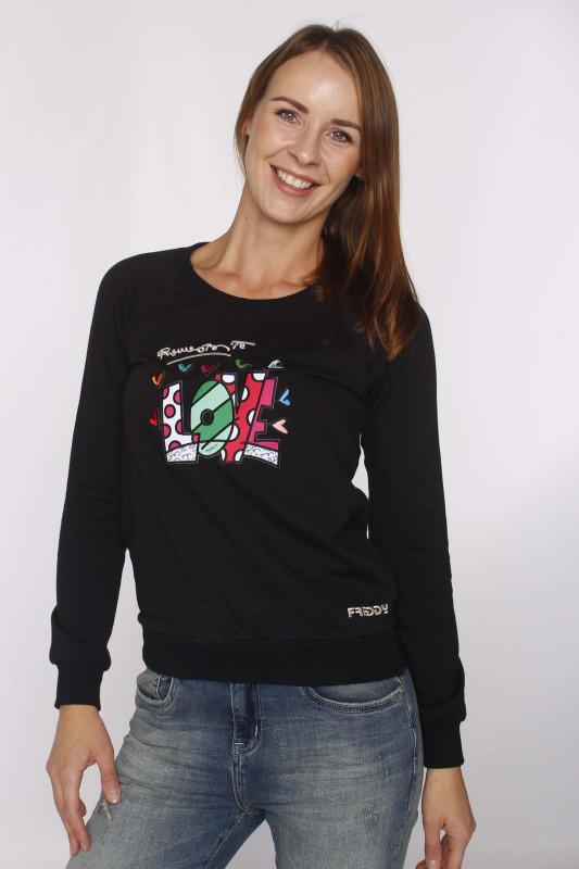 """FREDDY Damen Sweatshirt - """"F0WBRS6-N"""""""