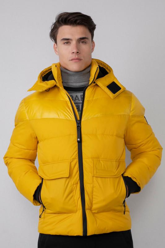 "PETROL Herren Winterjacke - ""Men Jacket padded antique yellow"""