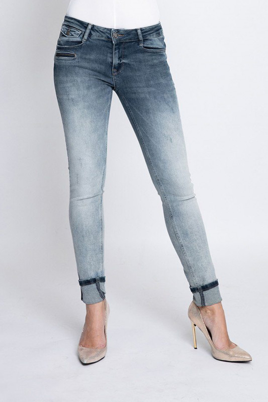 "ZHRILL Damen Jeans - ""Mia blue W7417"""
