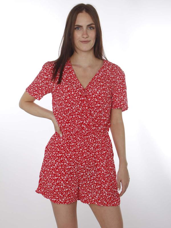 """TOMMY HILFIGER Damen Jumpsuit - """"Floral Print deep crimson"""""""