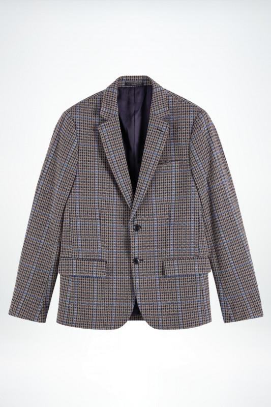 "SCOTCH & SODA Herren Blazer - ""Single-breasted knitted check"""
