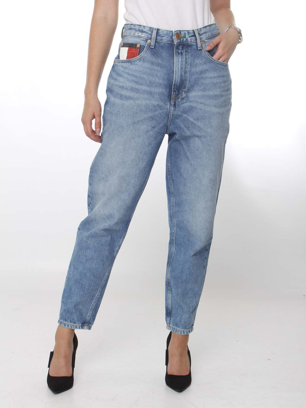 """Tommy Hilfiger Damen Jeans - """"RECYCLING Mom Jean High Rise Tapered save 20 light blue"""""""