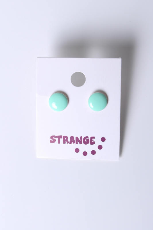 "STRANGE Damen Ohrstecker - ""JANA small mint"""
