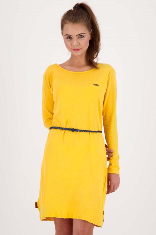 "ALIFE AND KICKIN Damen Kleid - ""ELLI LongAK Dress amber"""