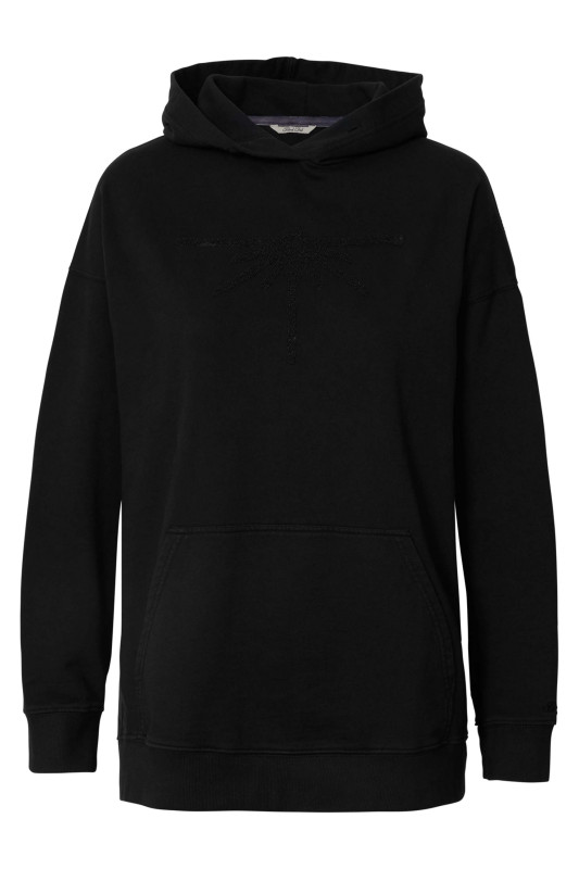 "PETROL Damen Sweatshirt - ""Sewater hooded black"""