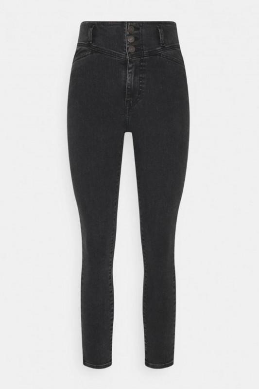 """LEVI'S Damen Jeans - """"Mile High Superskinny blk gala"""""""