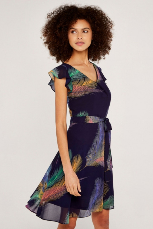 "APRICOT Damen Kleid - ""Bright Feather"""
