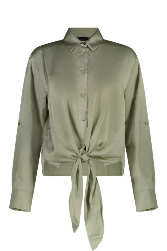 "GUESS Damen Bluse - ""Ls Amanda Shirt light matcha"""