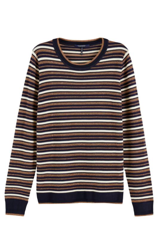"SCOTCH & SODA Damen Pullover ""Basic striped Pullover"""