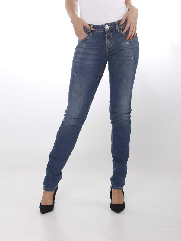 """LIU JO Damen Jeans - """"B.Up Magnetic blue"""""""