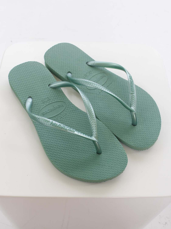 "Havaianas Damen Flip-Flops - ""Slim green tea"""