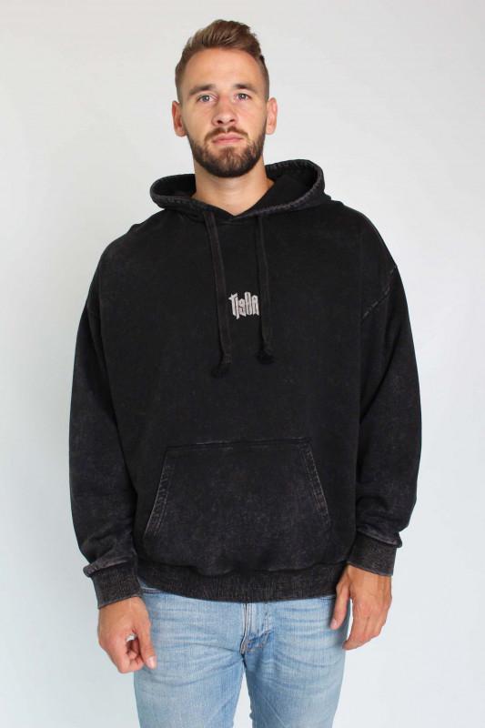 """TIGHA Herren Sweatshirt - """"Memories Hoodie vintage black"""""""