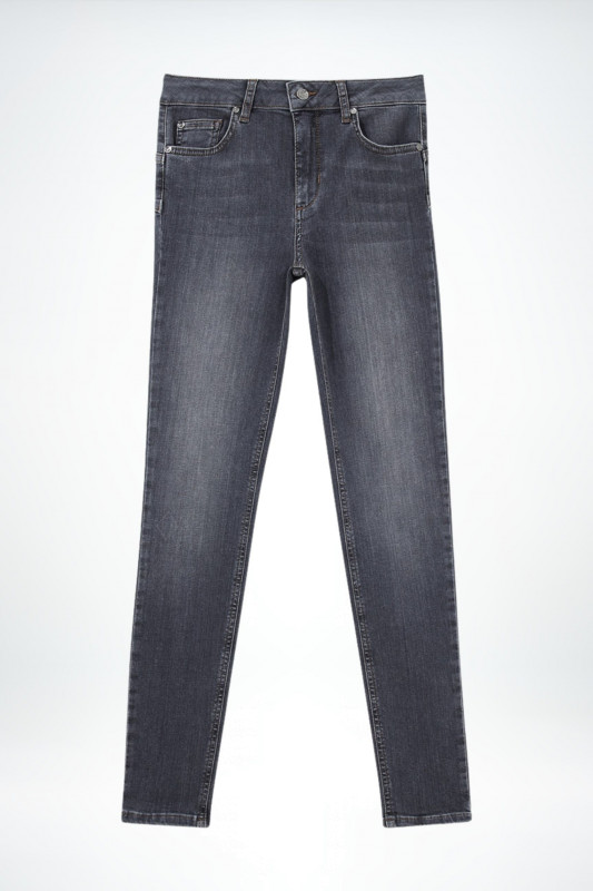 "Liu Jo Damen Jeans - ""B.up divine h.w. denim grey"""