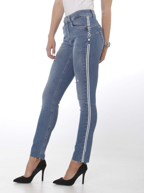 "Liu Jo Damen Jeans - ""B.up ideal h.w. den. blue clea"""