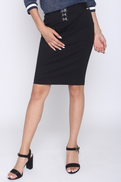 "GUESS Damen Rock - ""Chika Skirt jet black A996"""