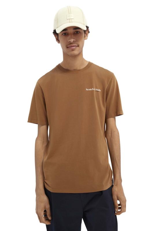 "SCOTCH & SODA Herren T-Shirt - ""Organic Cotton Jersey Tee taba"""