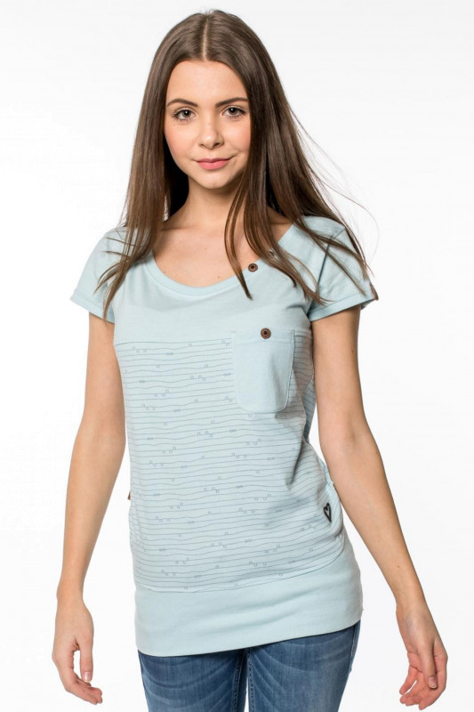 "ALIFE AND KICKIN Damen T-Shirt - ""CORA Shirt ice"""