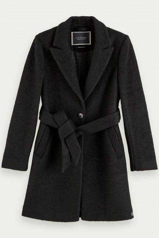 "SCOTCH & SODA Damen Mantel - ""Clean tailored wool jacket"""