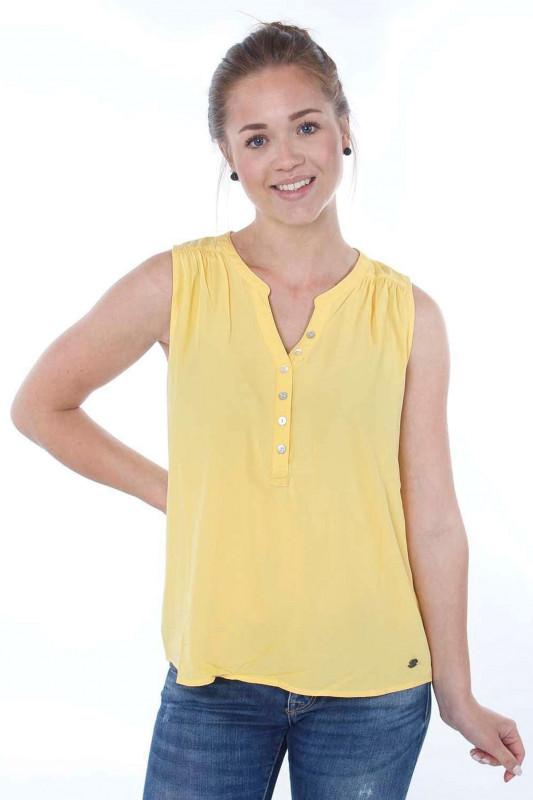 "Strange Damen Bluse - ""Jolina light yellow"""