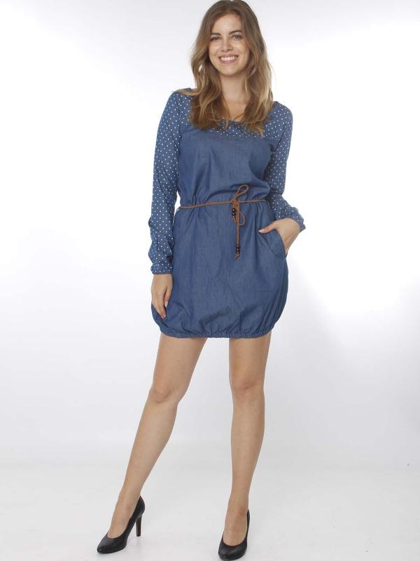 "STRANGE Damen Kleid - ""ELENA medium blue"""