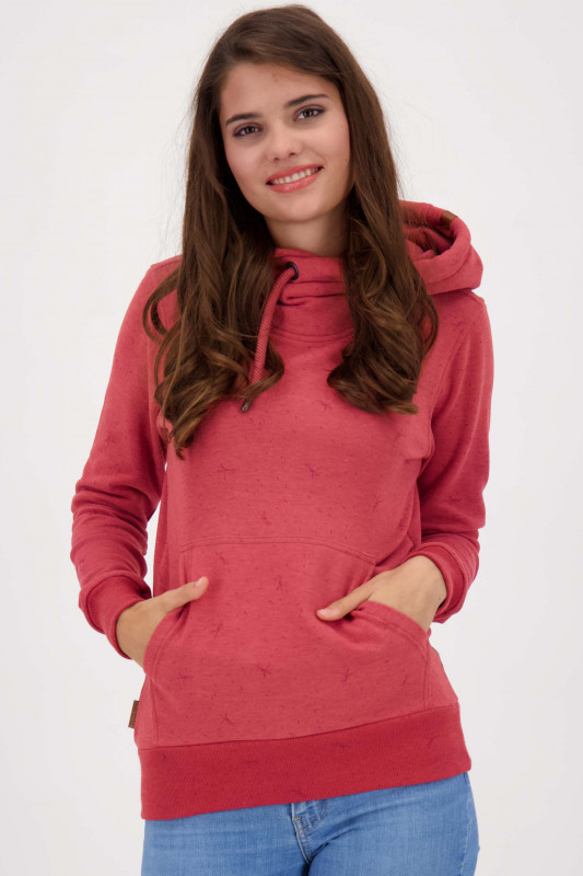 "ALIFE & KICKIN Damen Sweatshirt - ""SarahAK B Sweat cranberry"""