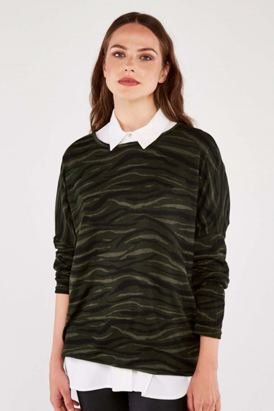 """APRICOT Damen Pullover - """"Abstract"""""""