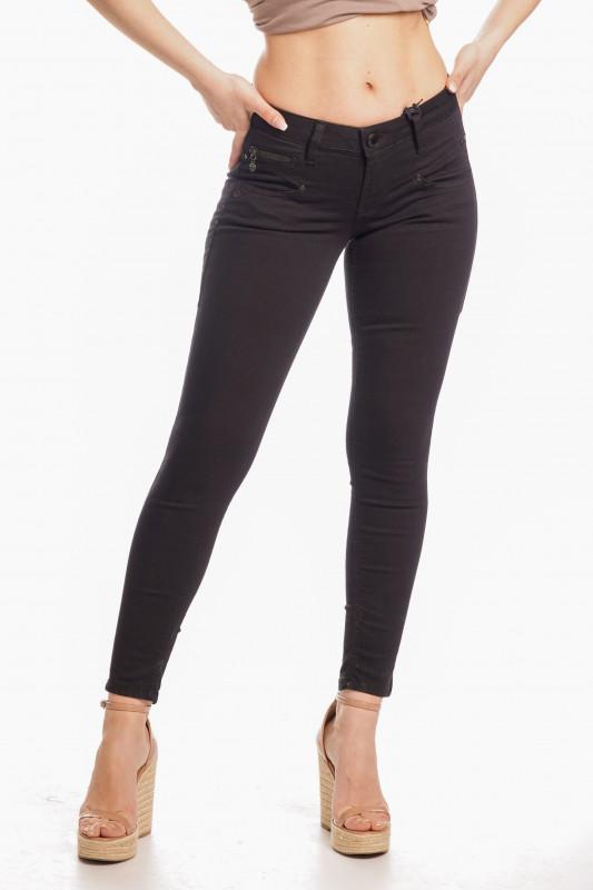 "FREEMAN T. PORTER Damen Jeans - ""Alexa cropped black"""