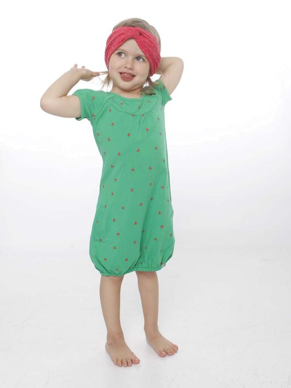 """STRANGE Kinder Kleid - """"Kids SINDY green / melons"""""""