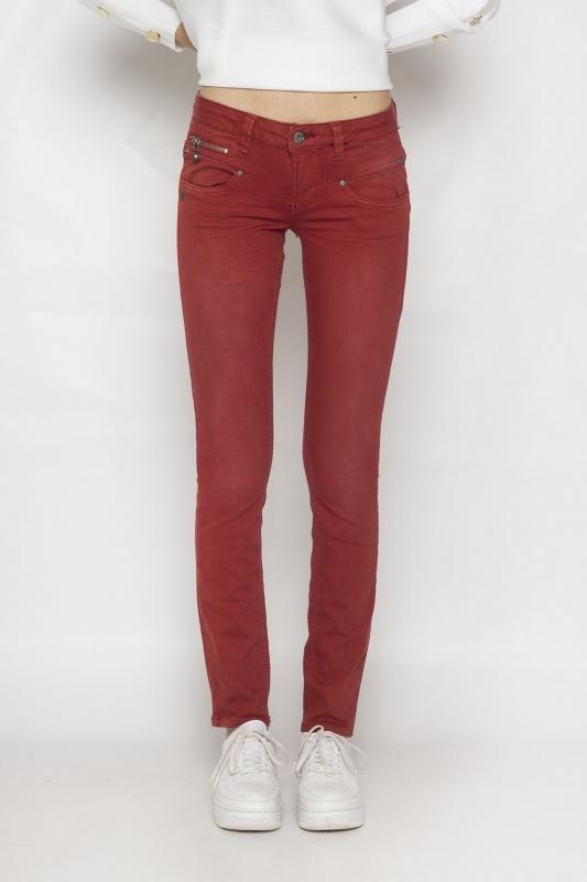 "FREEMAN T. PORTER Damen Jeans - ""Alexa Slim New Magic brick red"""