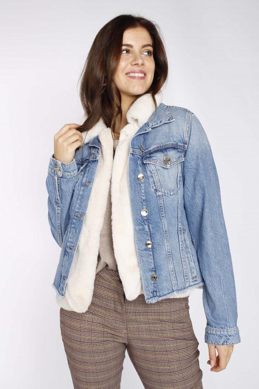 "LIU JO Damen Jacke - ""GIUBBINO for luxery den- blu"""
