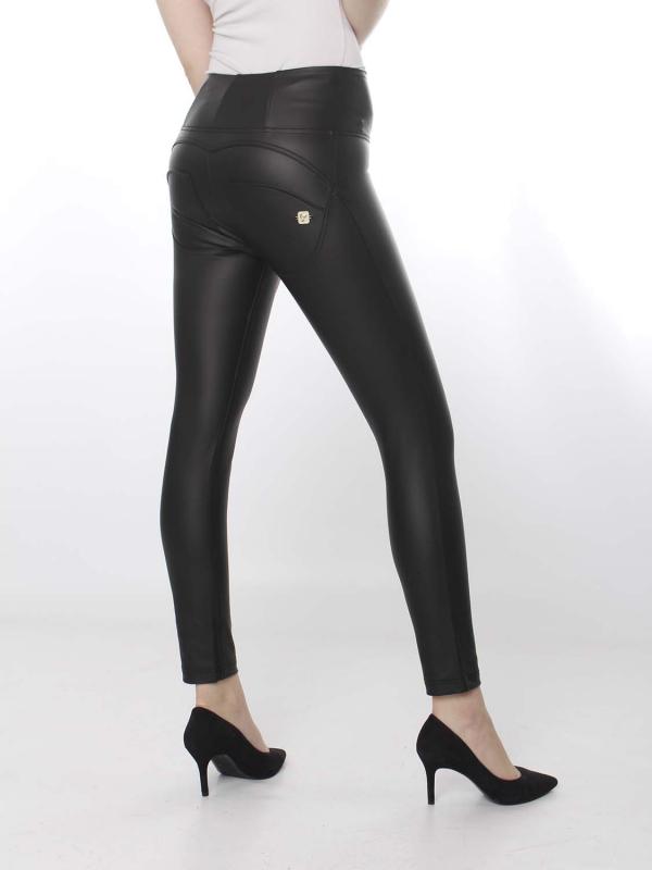 FREDDY WR.UP® Ecoleder - 7/8 High Waist Super Skinny - Black - N0