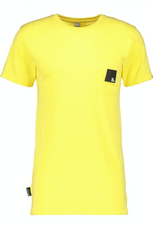 "ALIFE AND KICKIN Herren T-Shirt - ""Logo PocketAK T-Shirt lime"""