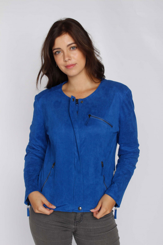 "FREEQUENT Damen Jacke ""Swan-ja trueblue"