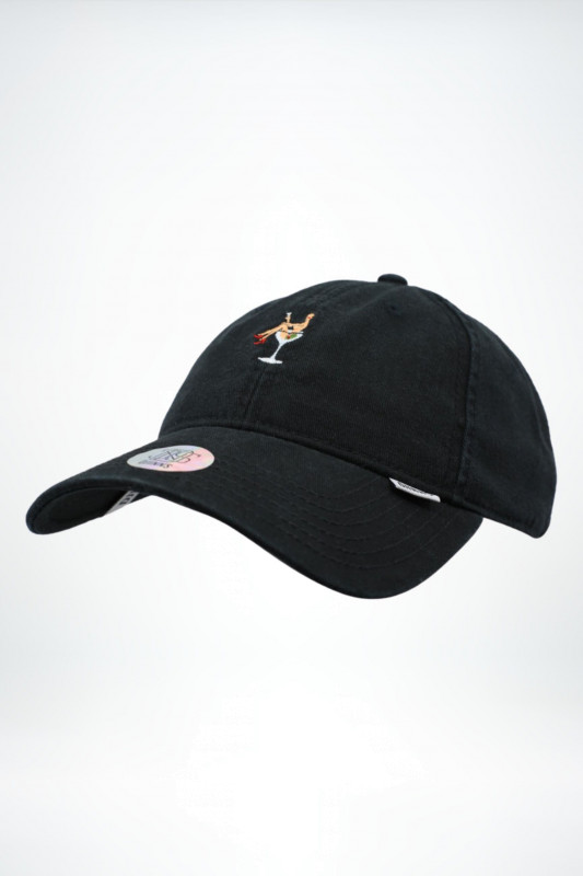 "DJINNS Herren Cap - ""Dad Cap coloured girl black"""