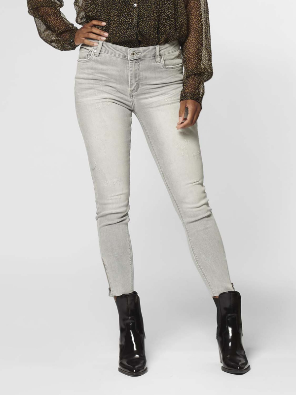 "Circle of Trust Damen Jeans - ""Debbie Cropped concrete grey"""