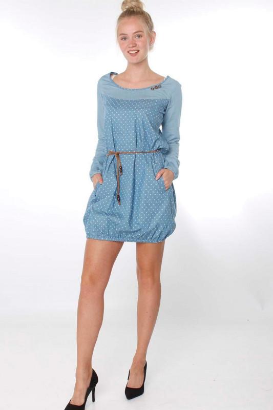 """STRANGE Damen Kleid - """"ELENA light blue"""""""